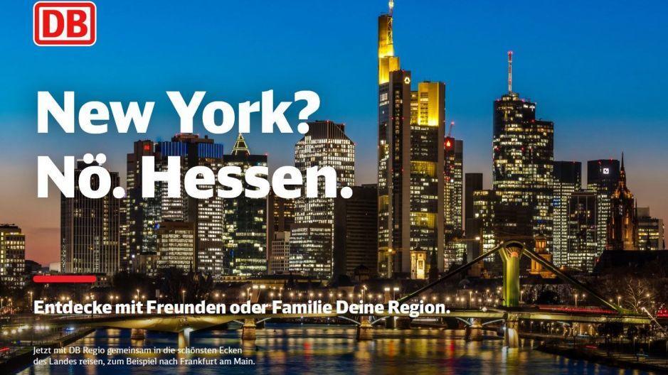 Kampagne für die Deutsche Bahn