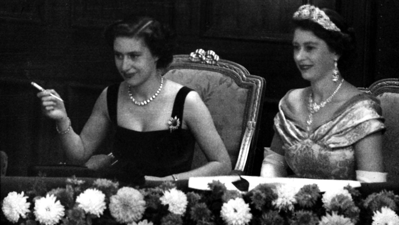 Prinzessin Margaret war immer etwas anders als ihre Schwester Queen Elizabeth.