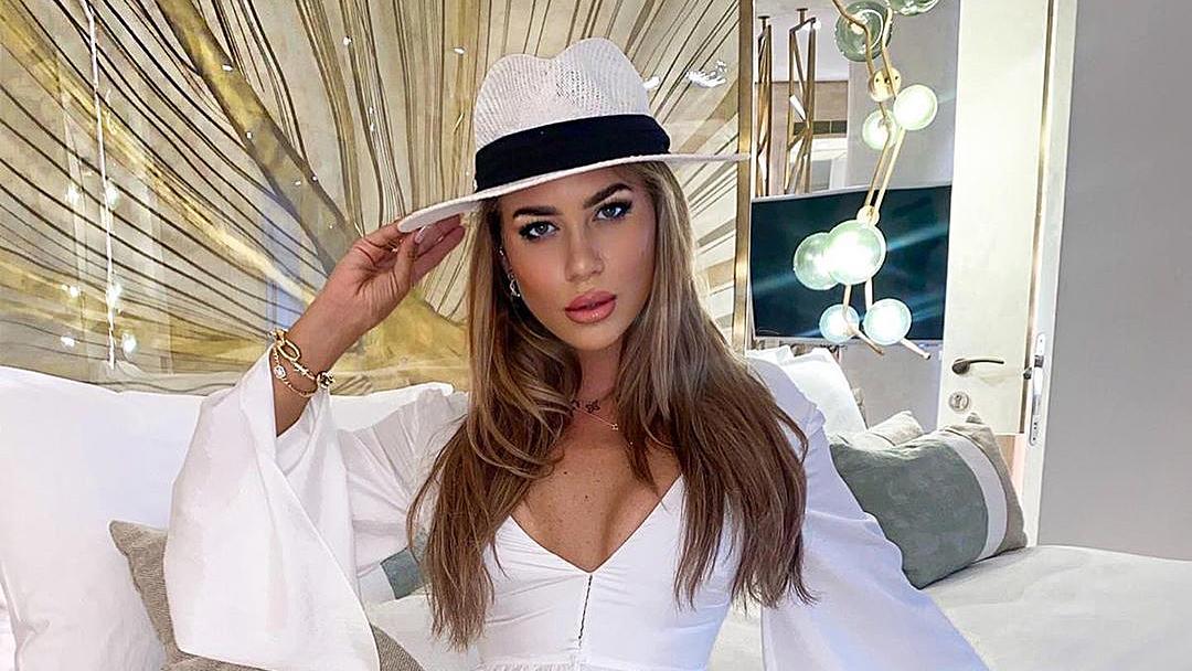 Jessica Paszka genießt ihre Zeit auf der Balearen-Insel Ibiza.
