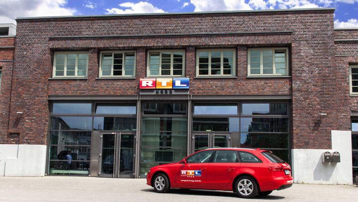 Die RTL Nord Redaktion in Hamburg