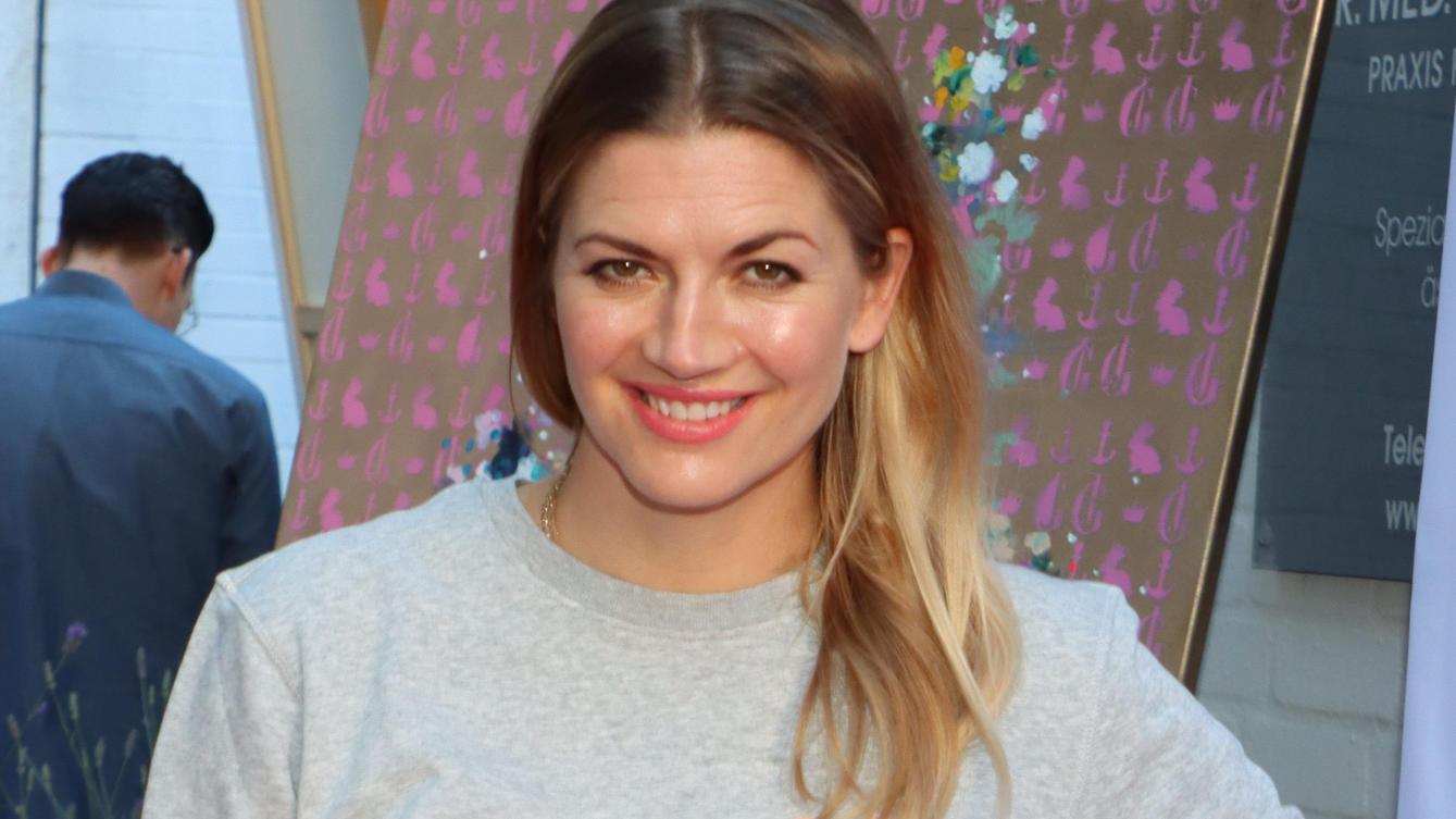 Nina Bott bei einer Veranstaltung in Hamburg im Juli 2020.