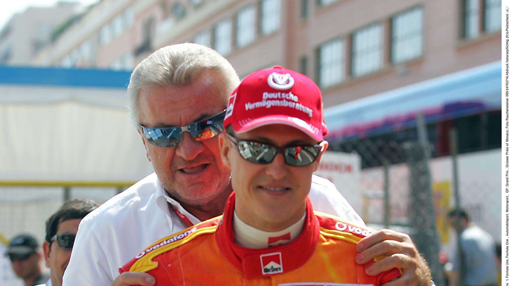 Willi Weber und Michael Schumacher.