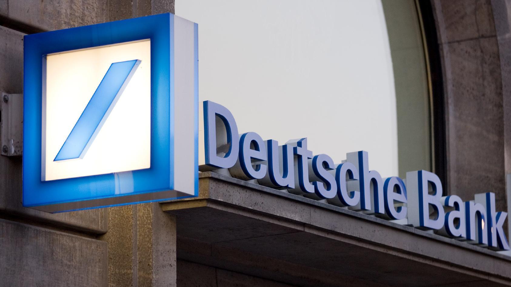 Die Deutsche Bank hat bereits die Schließung von Filialen agekündigt.