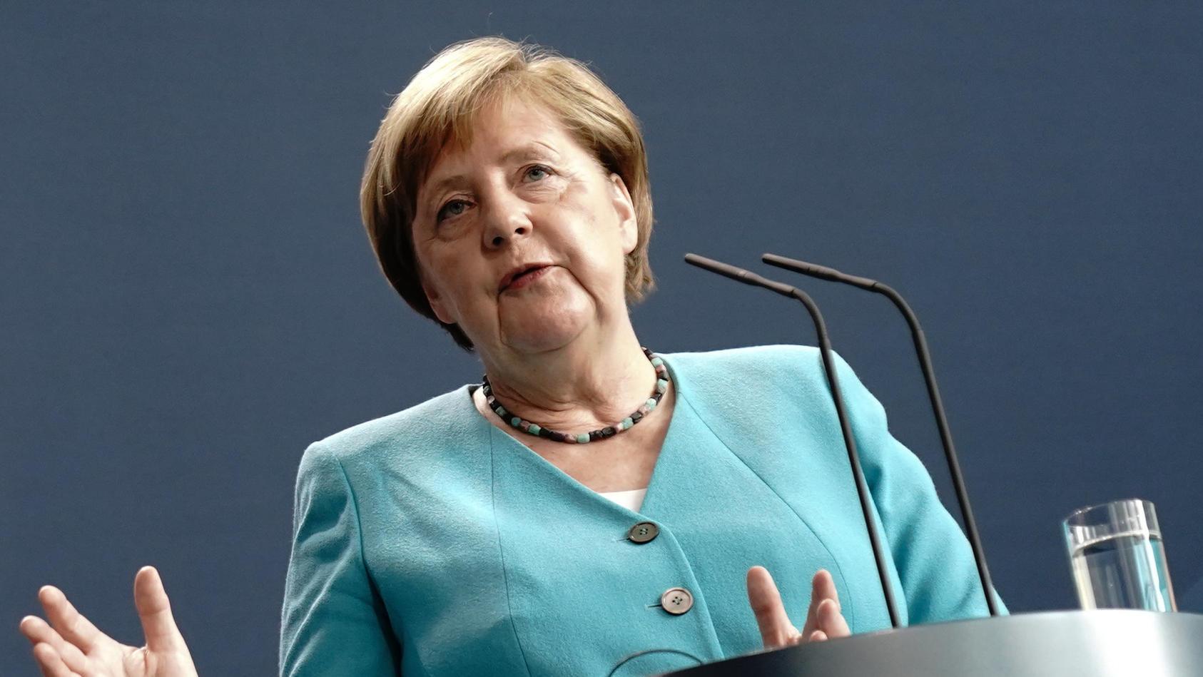 Bundeskanzlerin Merkel im Juli 2020 in Brüssel