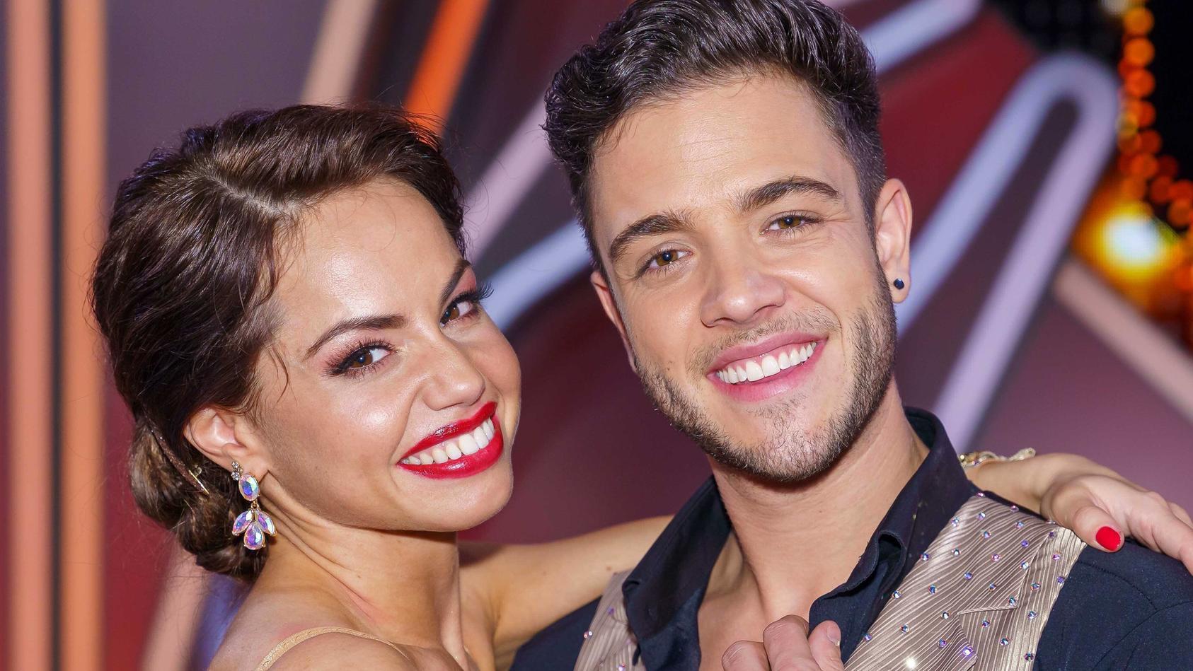 """Bei """"Let's Dance"""" 2020 hat es zwischen Christina Luft und Luca Hänni gefunkt."""