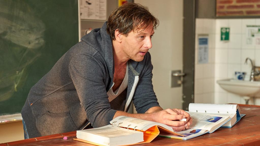 Mit viel Leidenschaft  spielte Hendrik Duryn 14 Jahre lang den Lehrer Stefan Vollmer.