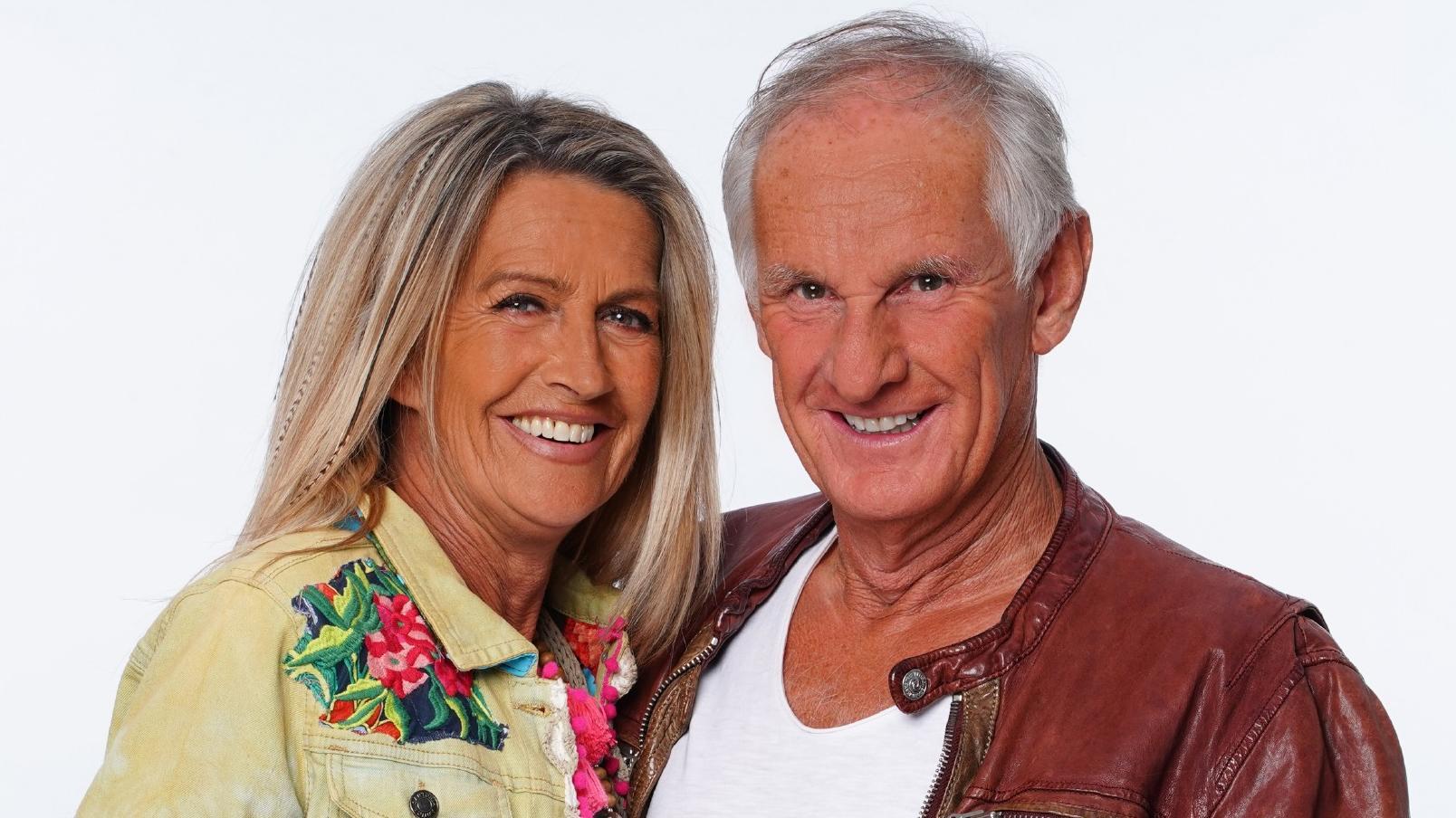 Der Hypnotiseur Martin Bolze (63) und die Designerin Michaela Scherer (53).