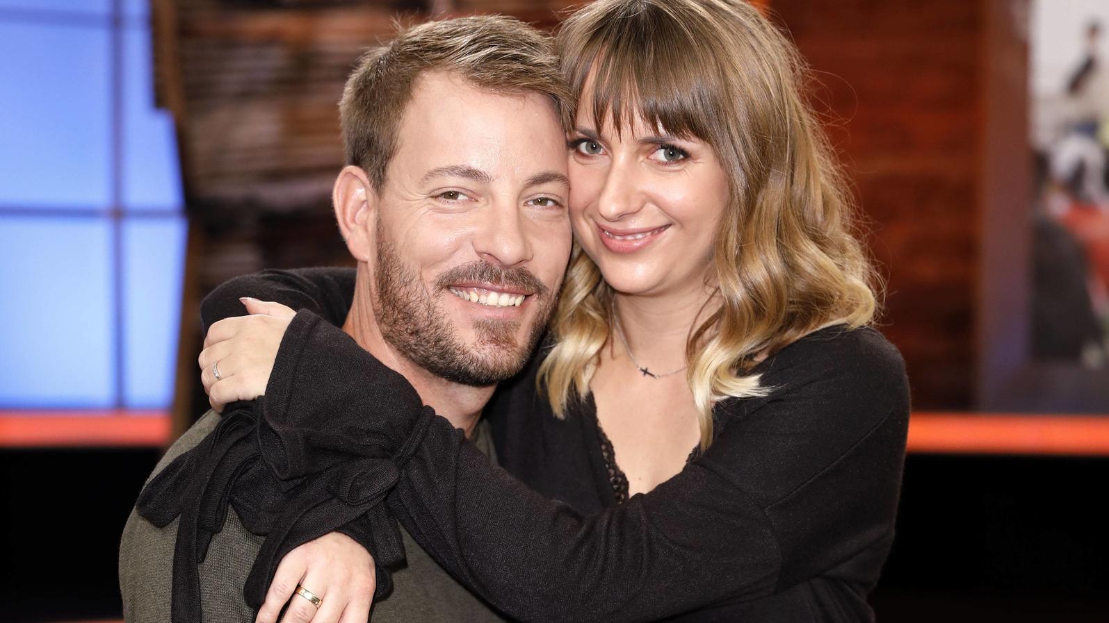 Gerald und Anna Heiser erwarten bald ihr erstes Baby.