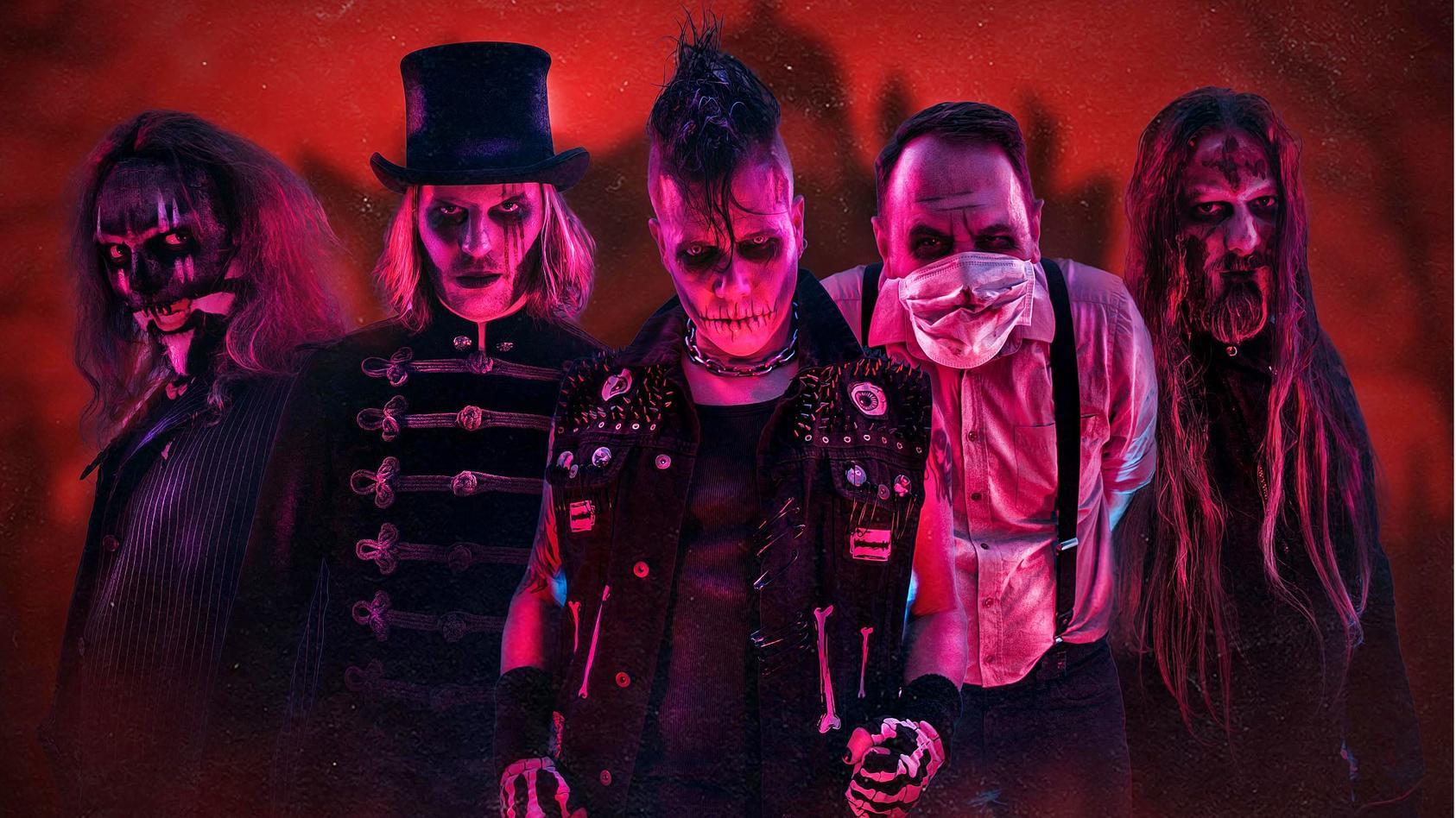 """The Other"" sind Europas bekannteste Horrorpunk-Band."