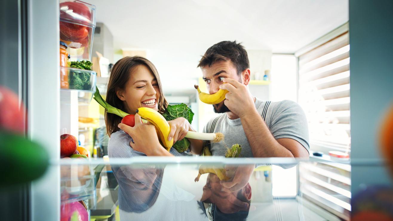 So halten Sie Bananen länger frisch.
