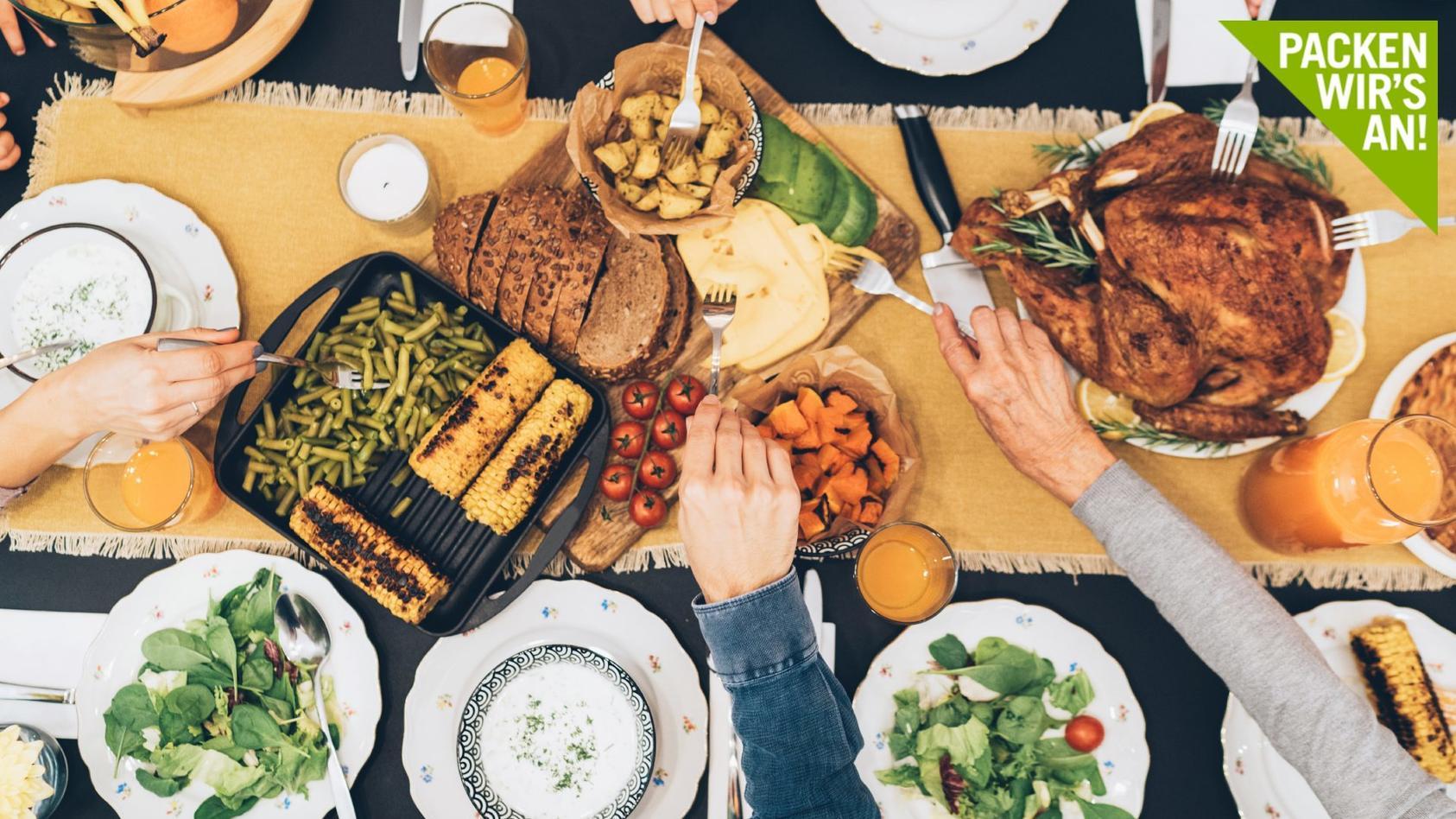 Gemüse statt Fleisch auf den Tisch - für unsere Erde und das Klima wäre das viel besser.