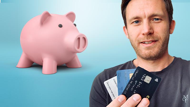 Das 3-Konten-Modell ist eine gute Methode, um Geld anzusparen, findet Autor Sebastian Priggemeier.