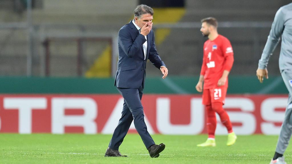 Brauna Labbadia muss sich aus dem DFB-Pokal verabschieden