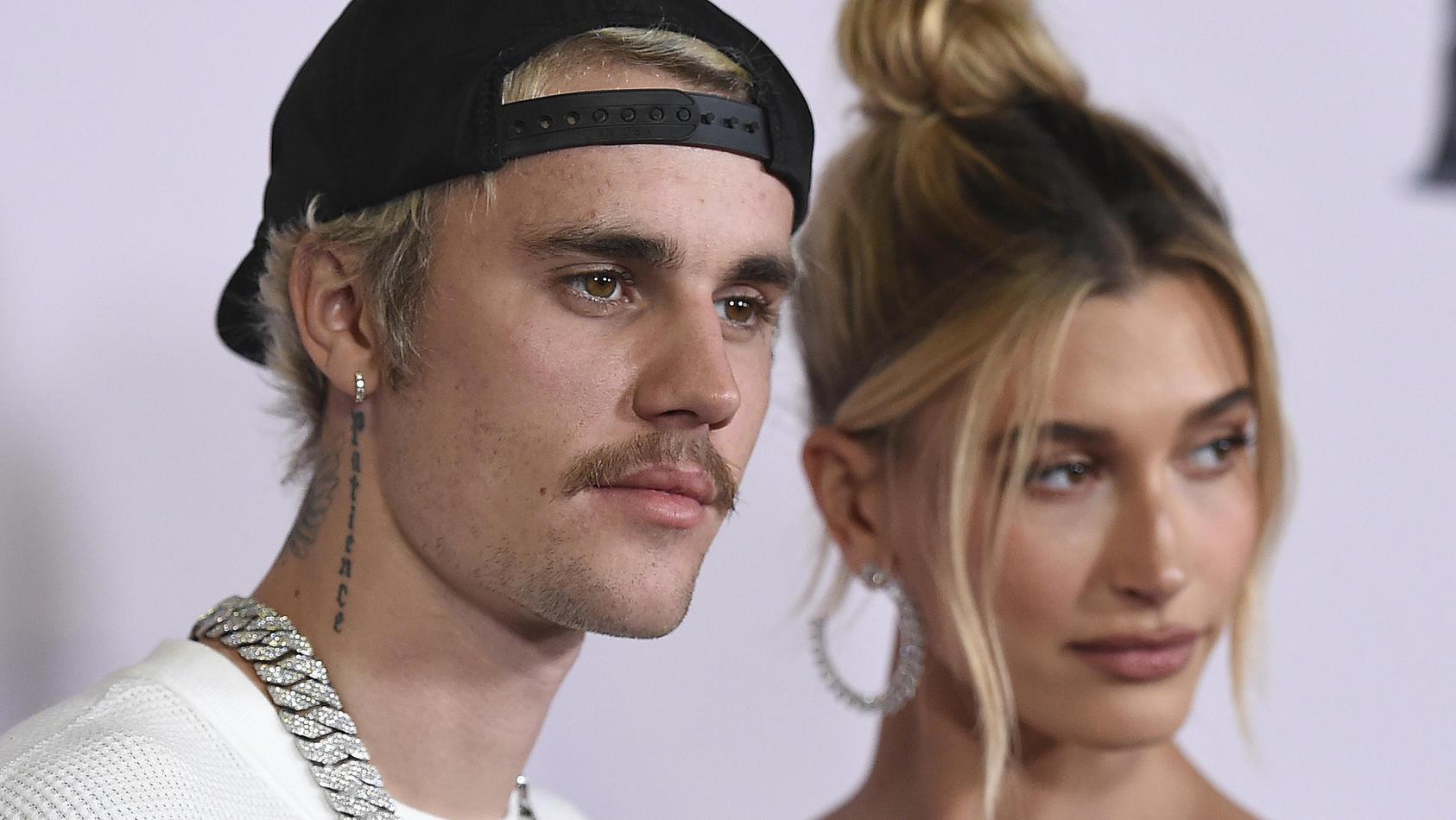 Justin Bieber will sich seiner Frau zuliebe vorerst keine Tattoos mehr stechen lassen.