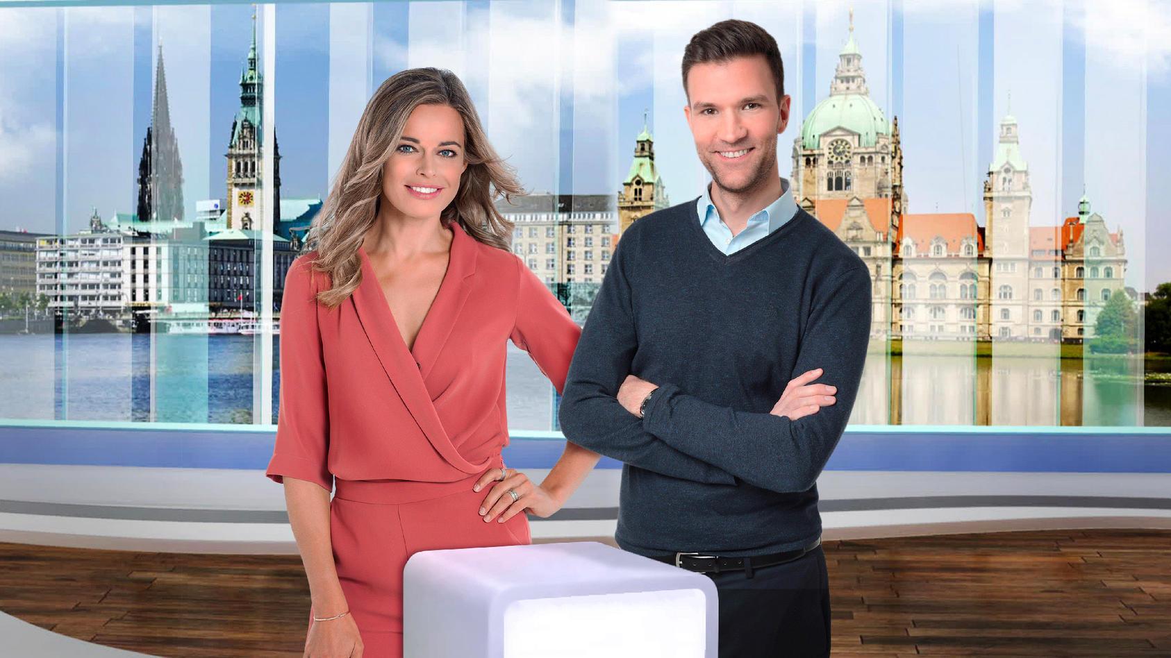 RTL Nord Susanne Böhm und Alexander Gurgel