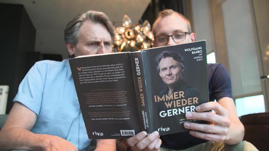 Wolfgang Bahro hat ein Buch geschrieben
