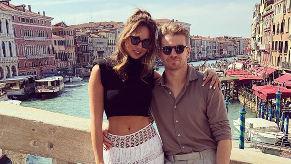 Nico Hülkenberg mit seiner Verlobten Egle Ruskyte in Venedig