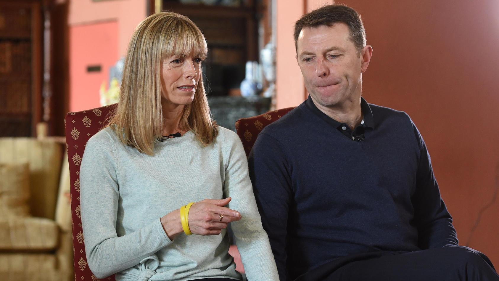 Die Eltern von Maddie wollen die Hoffnung nicht aufgeben, das ihre Tochter lebt.