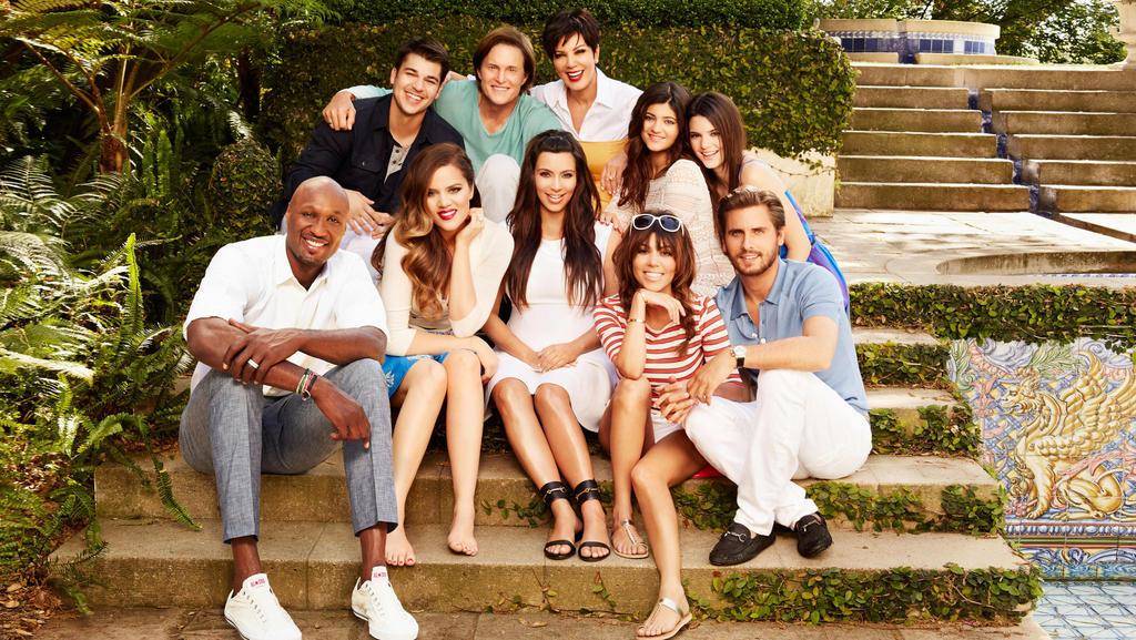 Der Kardashian-Jenner-Clan 2007.