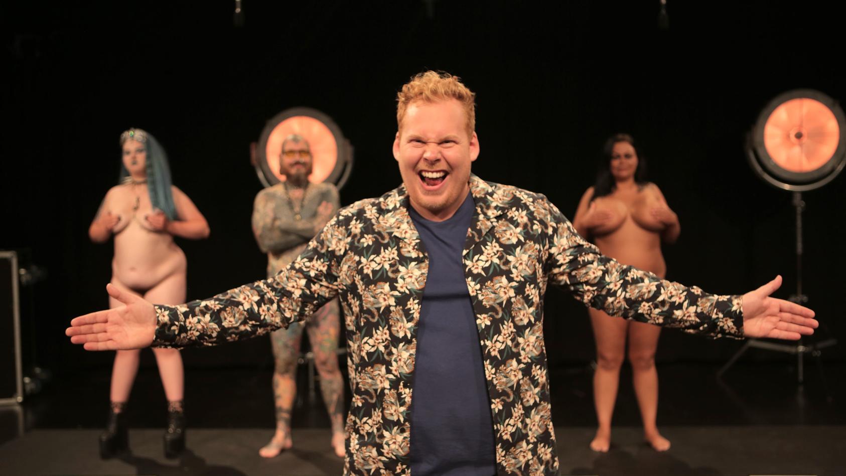 Ein Bild aus der dänischen Version der Nacktshow. Jetzt kommt sie auch ins niederländische TV.