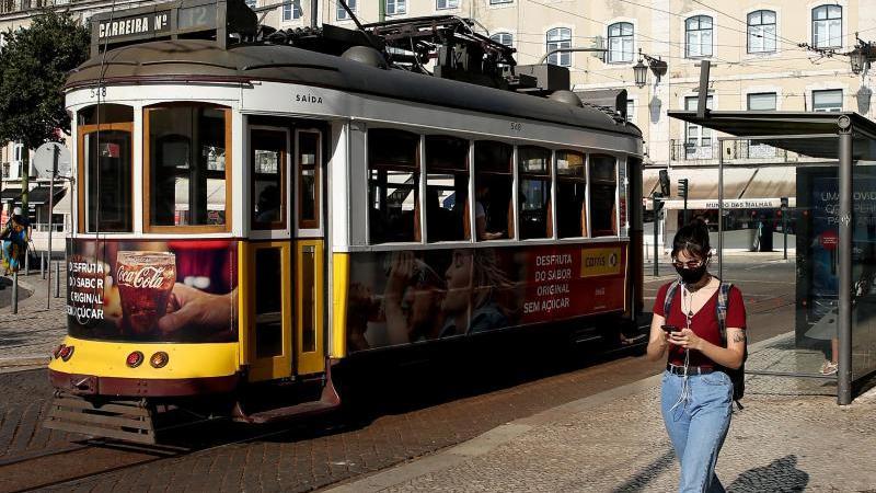 Portugals Hauptstadt Lissabon wird wegen Ausbreitung der Delta-Variante abgeriegelt.