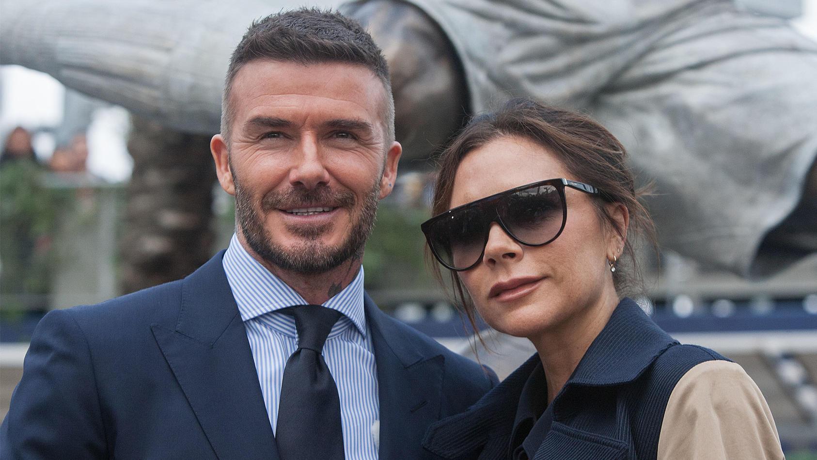 David und Victoria Beckham sind seit 1999 verheiratet.