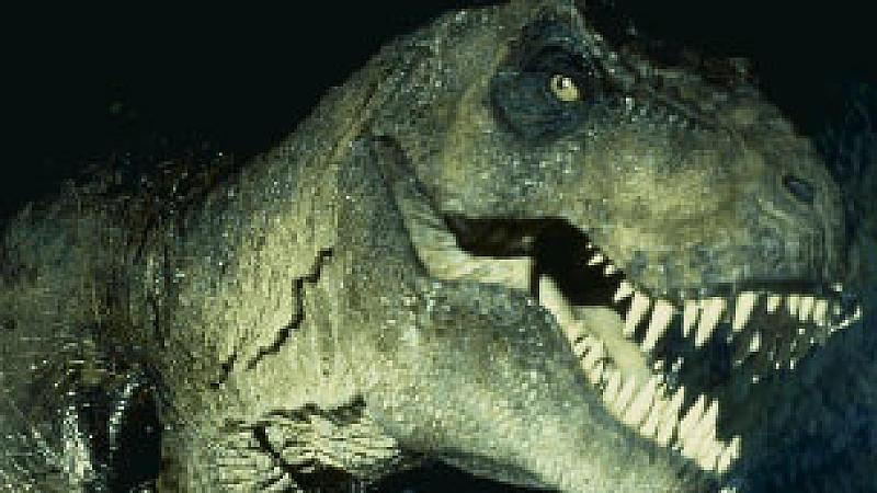 T. rex aus Jurassic Park