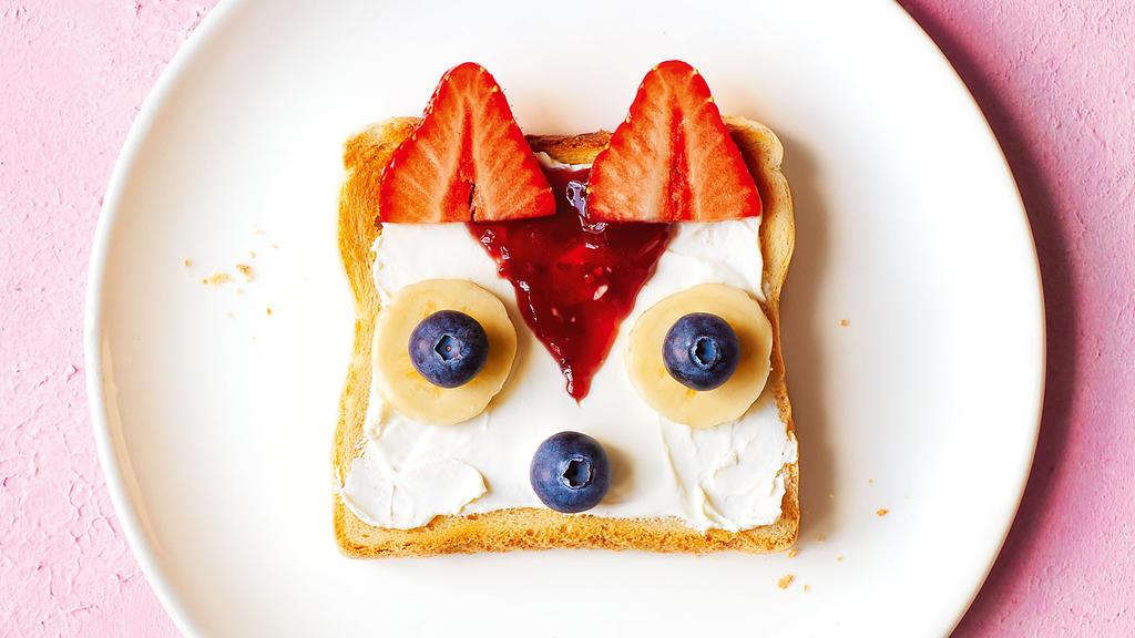 Süßes Frischkäse-Brot: So isst Daniela Katzenbergers Tochter Sophia ihr Toast gern