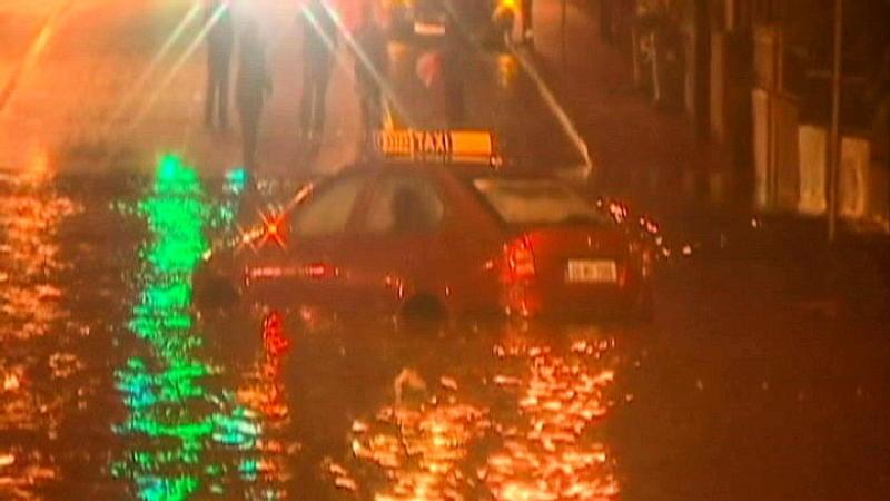 Hochwasser in Irland