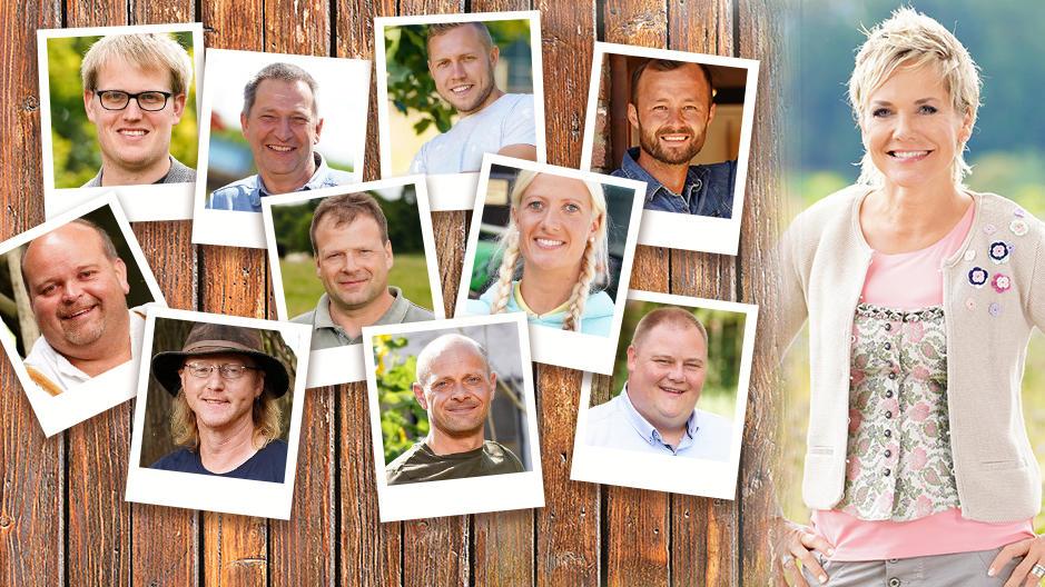 """Bei """"Bauer sucht Frau"""" suchen 10 neue Kandidaten die Liebe ihres Lebens."""