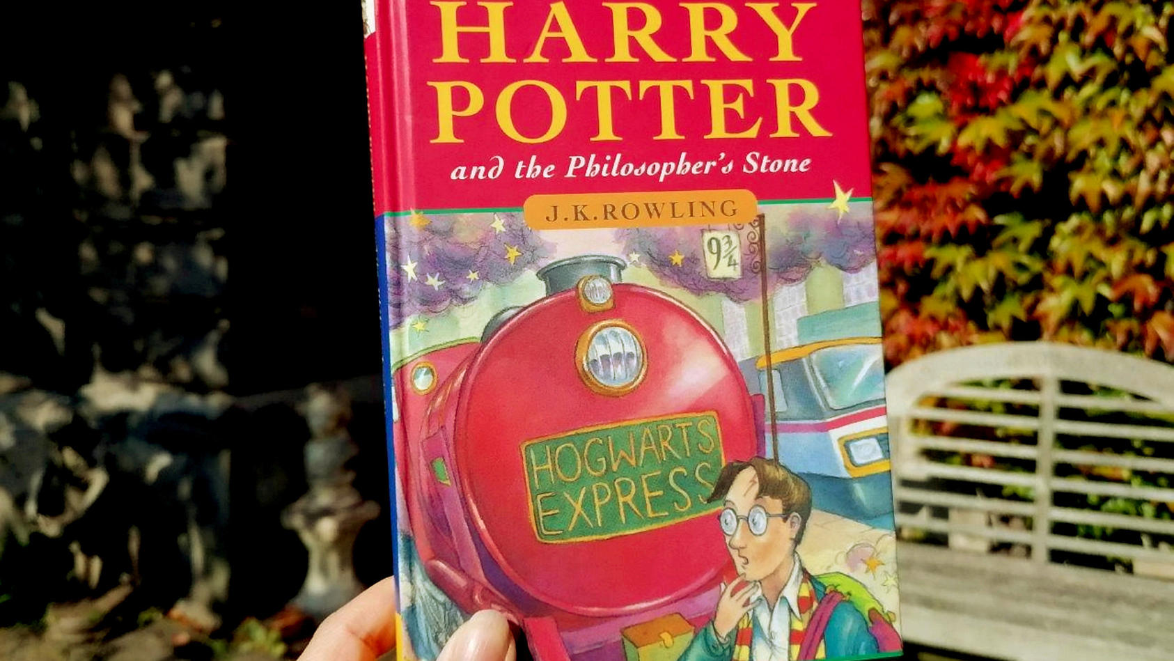 Unglaublich Altes Harry Potter Buch Macht Familienvater Um 55 000 Euro Reicher