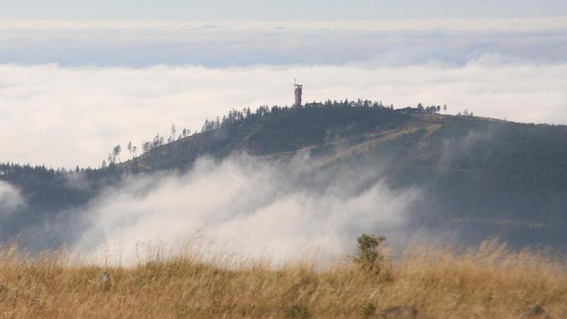 Diesen Blick auf den Wurmberg können Urlauber vom Brockengipfel aus genießen.