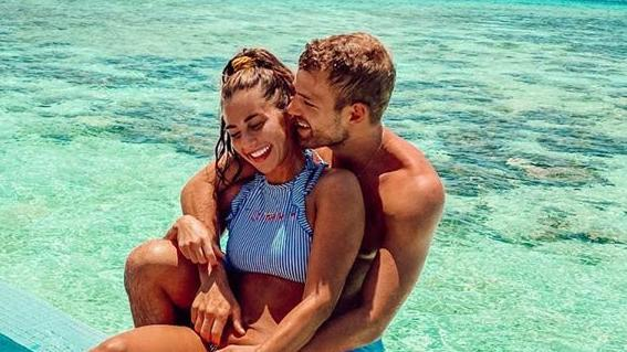 Sarah Lombardi Julian Büscher werden bald Eltern