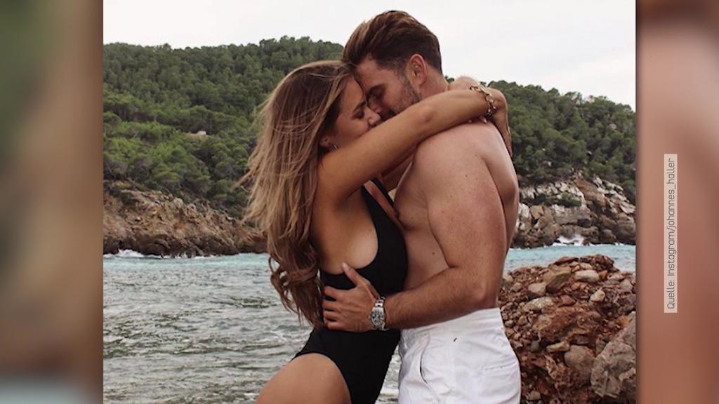 Jessica Paszka und Johannes Haller wollen auf Ibiza zusammen ziehen.