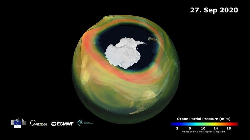 Das Thema Ozonloch ist zurück.