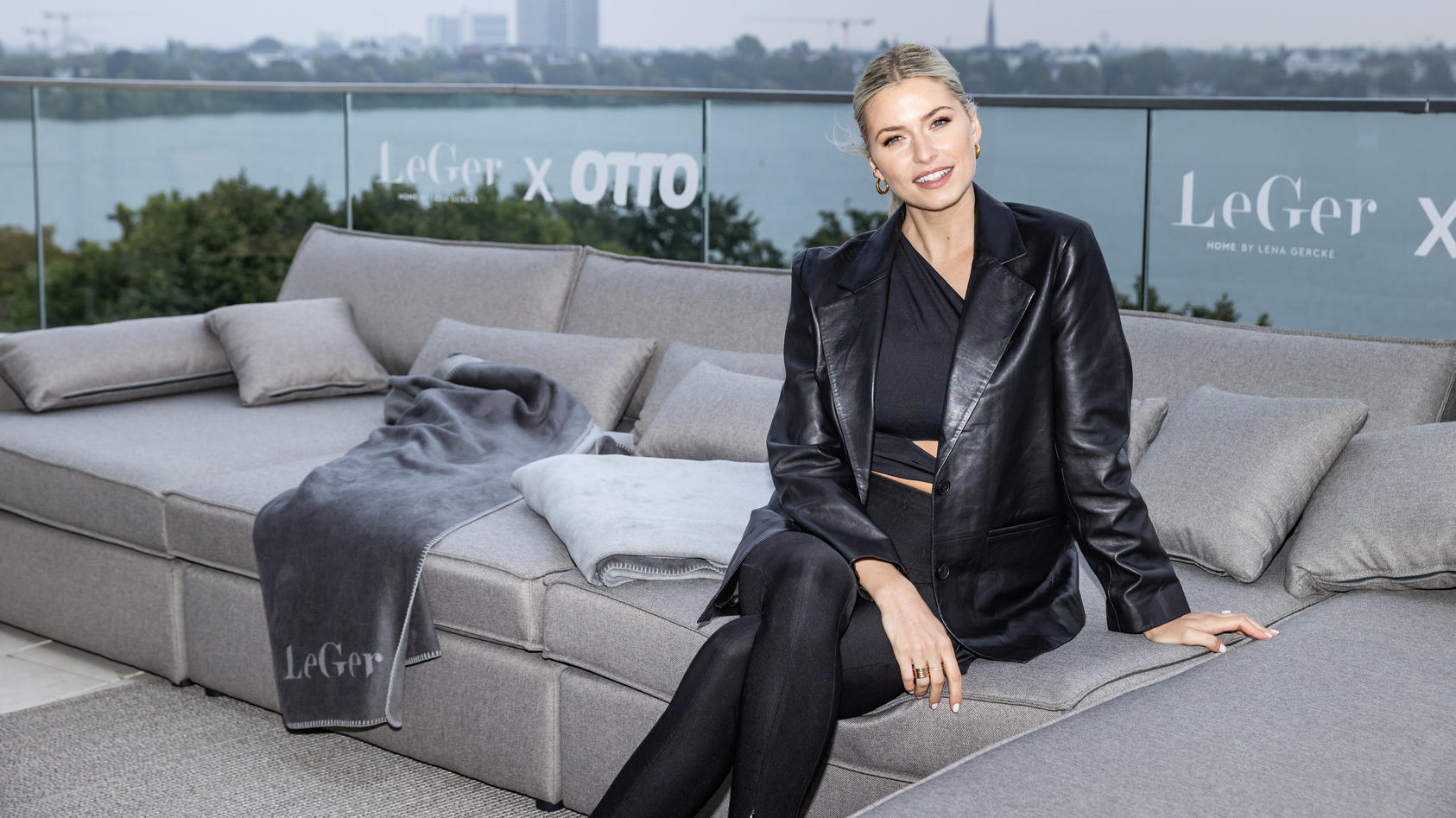 Lena Gercke zeigt ihre eigene Home-&-Living-Kollektion.
