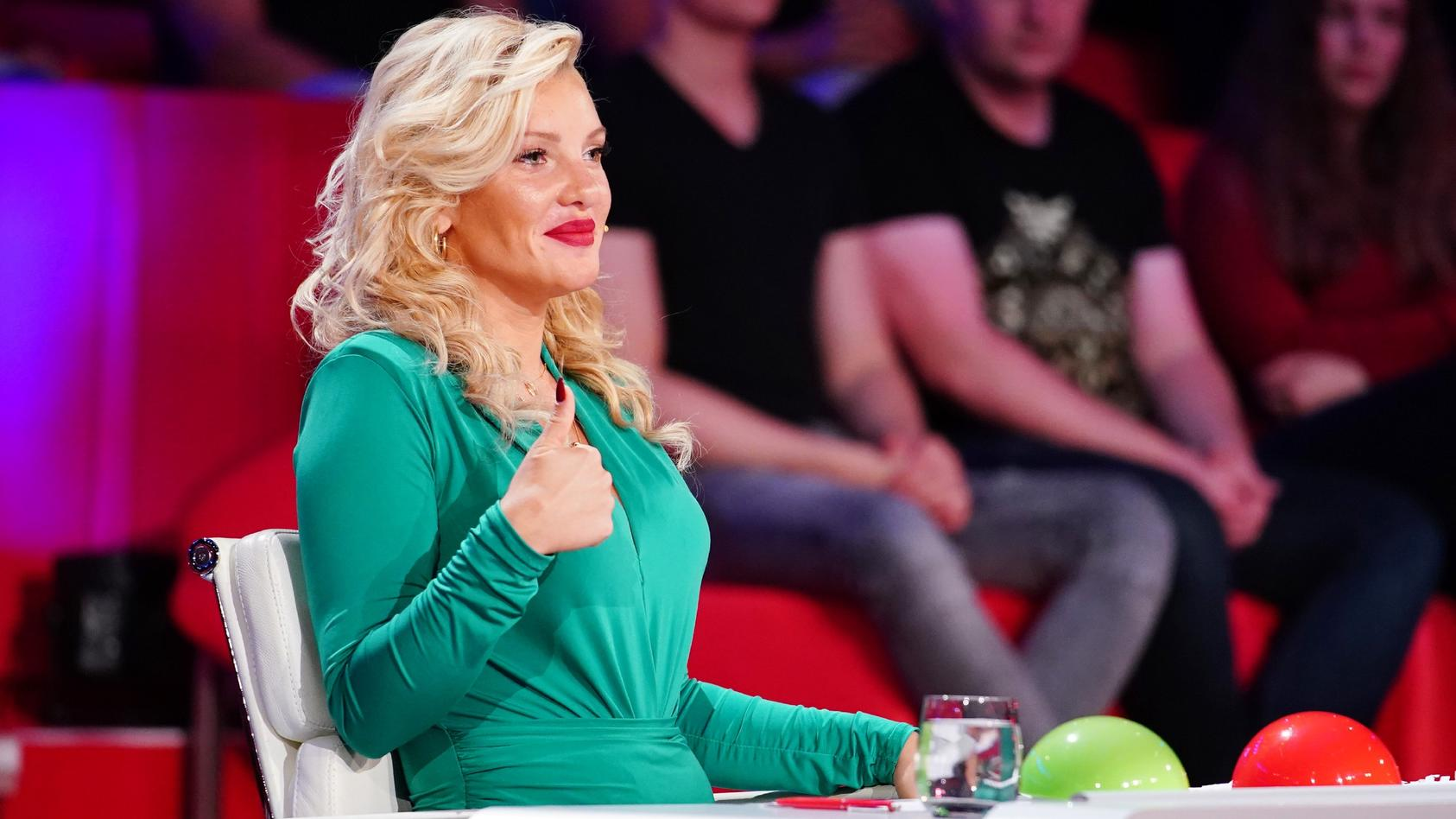 "Das Supertalent"" 2020: Evelyn Burdecki ist in der Jury"