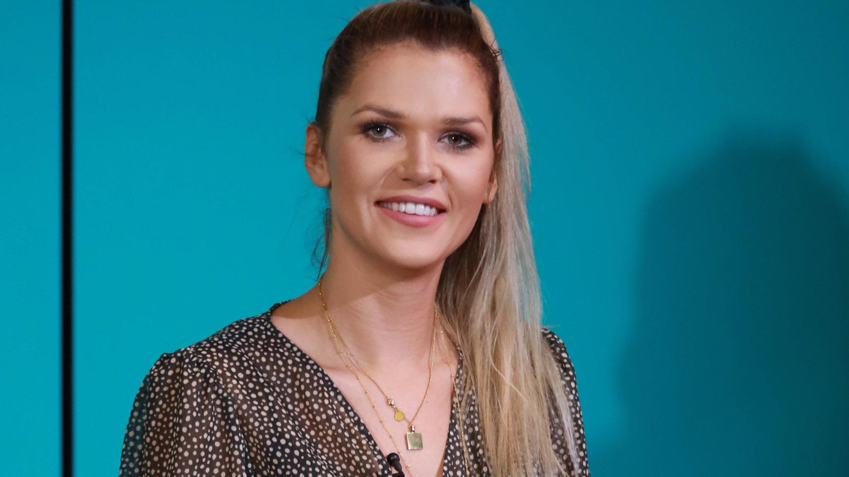Sara Kulka bei einem Auftritt 2020 in Halle an der Saale.
