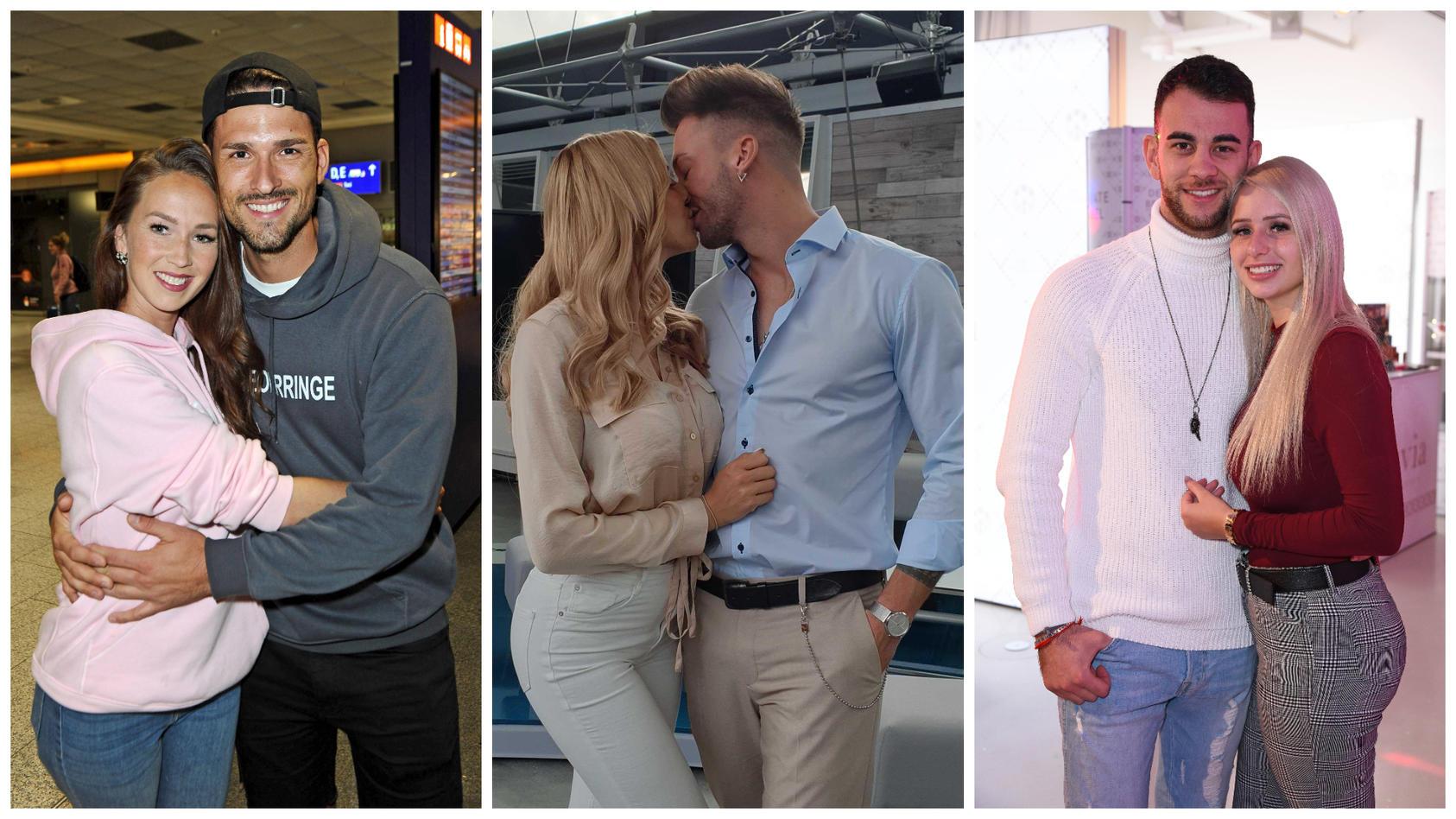 Christina Grass und  Marco Cerullo sind noch ein Paar. Gerda Lewis und Keno Rüst sowie Serkan Yavuz und Carina Spack haben sich mittlerweile getrennt.