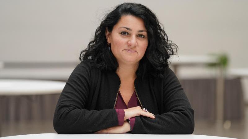 Lamya Kaddor, Islamwissenschaftlerin und Publizistin von der Universität Duisburg-Essen. Foto: Jörg Carstensen/dpa