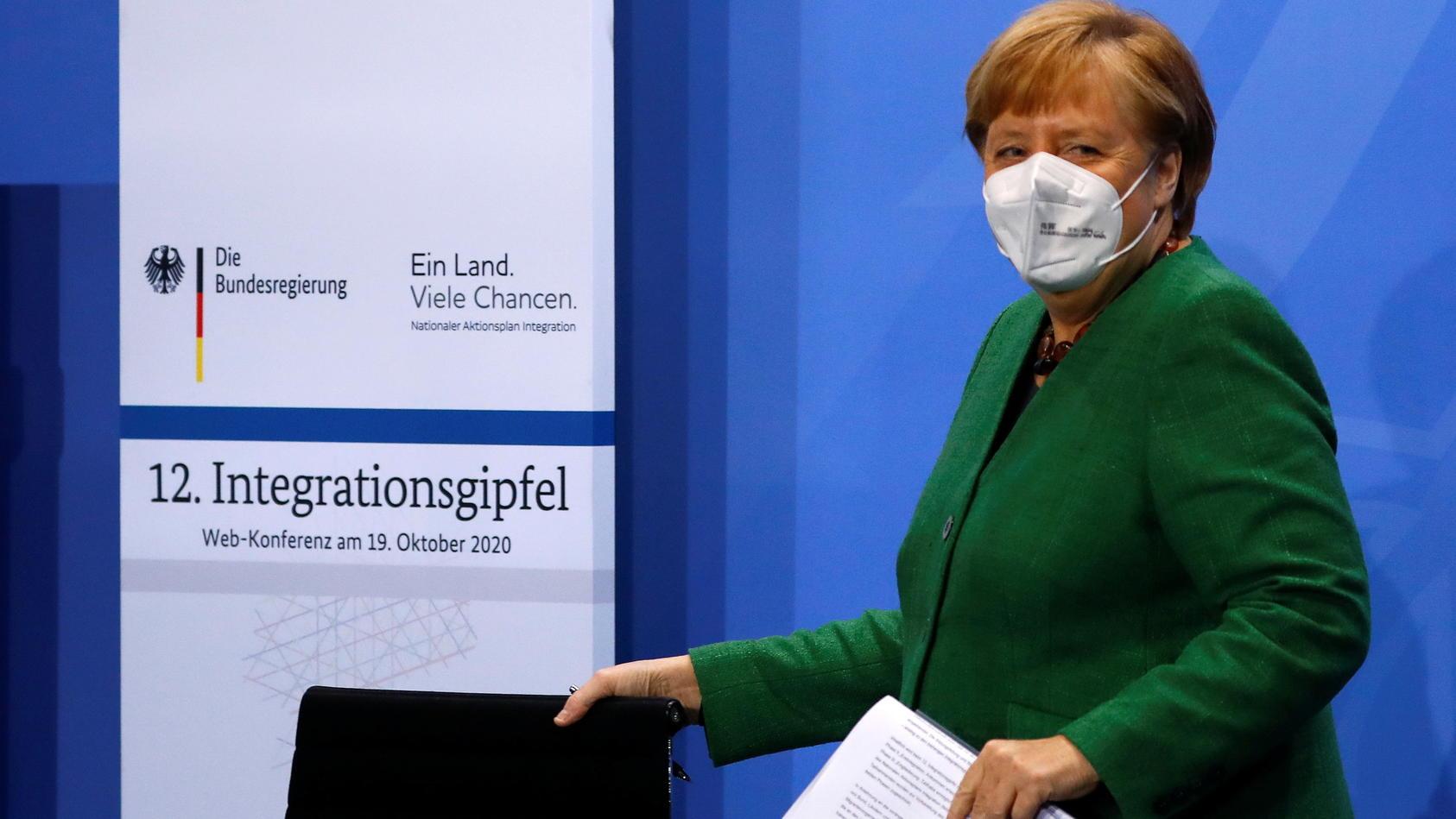 12. Integrationsgipfel bei Bundeskanzlerin Angela Merkel