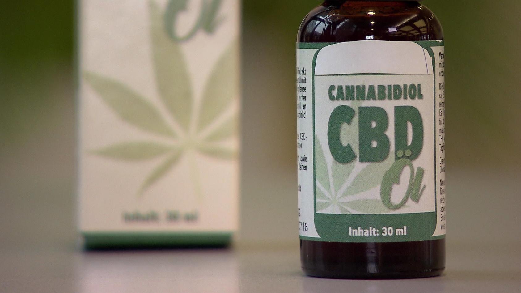 Cannabidiol-Öl