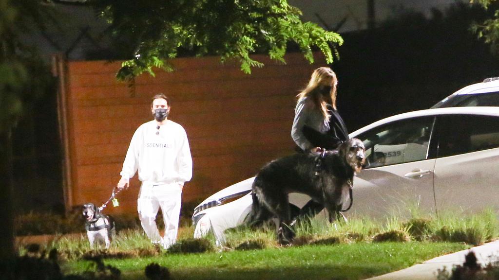 Tom Kaulitz und Heidi Klum in Los Angeles, kurz vor Abflug nach Deutschland