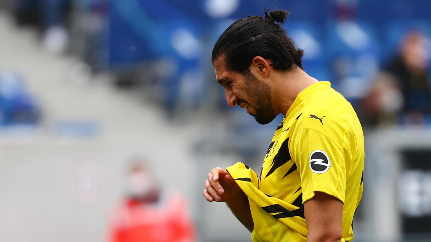 Emre Can im Bundesligaspiel von Borussia Dortmund bei der TSG Hoffenheim.