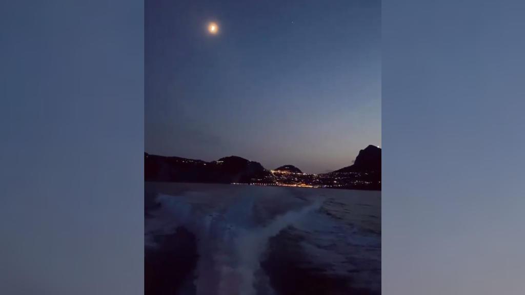 Heidi Klums Blick über Capri