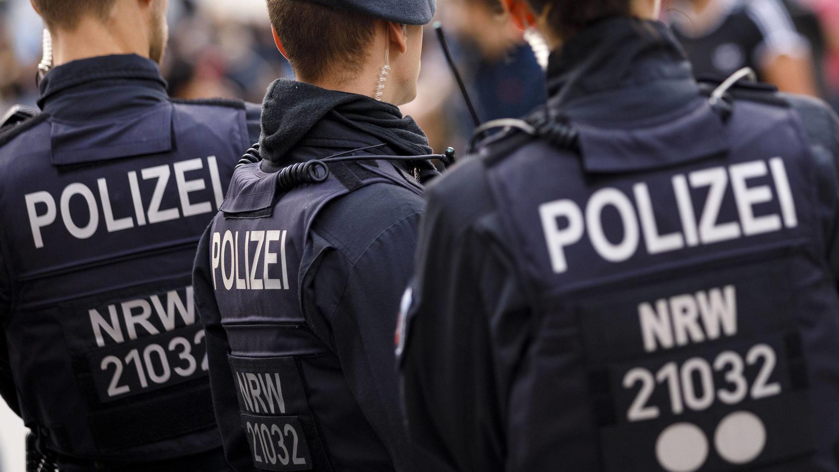 Polizeieinsatz am Kölner Hauptbahnhof (Symbol).