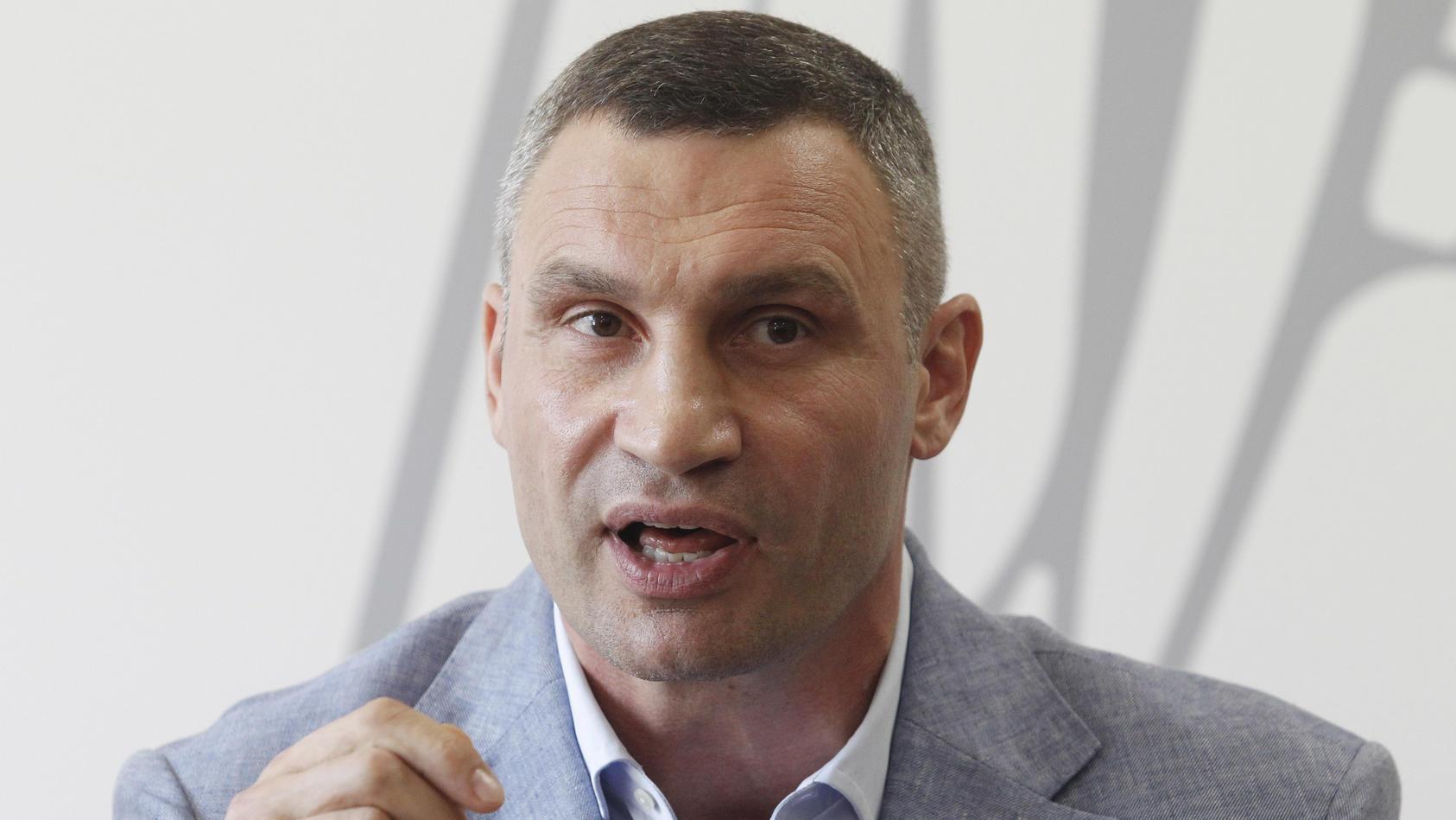 Kommunalwahlen in der Ukraine -  Vitali Klitschko