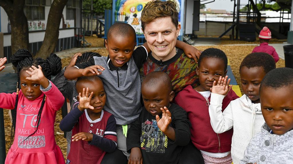 Michael Patrick Kelly setzt sich für den RTL-Spendenmarathon ein.