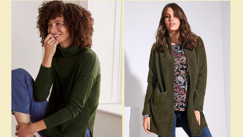 Wintermode Neutral Colors: Olivgrün