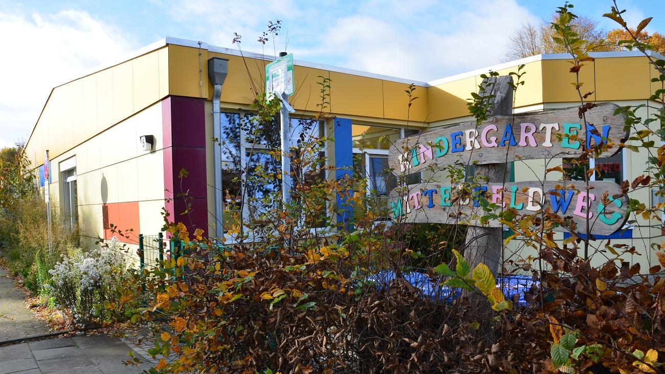 Die Kindertagesstätte Mittelfeldweg in Geestland-Langen